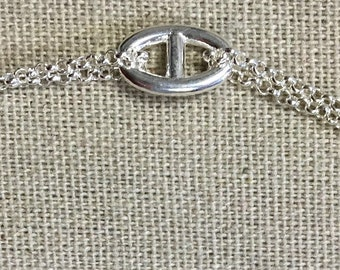 BR GUARDIA Silver Bracelet big links