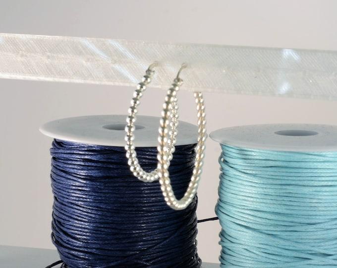 Women's Silver Hoop Earrings PENASCOS