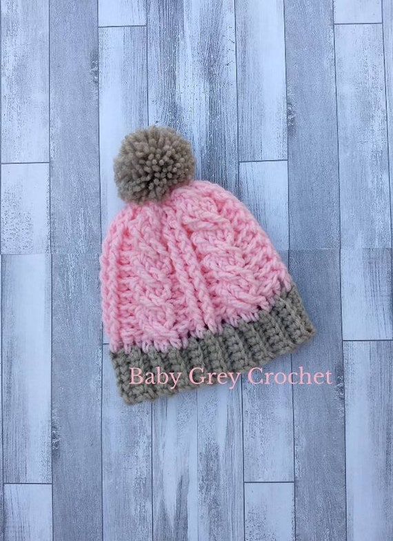 Infant snow hat infant winter hat infant beanie  1f636234ece