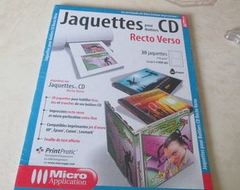 set of 30 sheets for cd covers