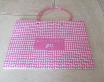 pink plastic bag