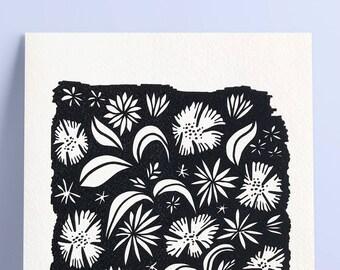 Flowers in the Sky — Print