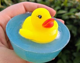 Mountain Rain rubber ducky soap