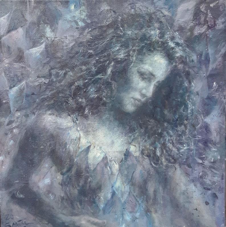 GERRY MILLER-One-of-a-kind Artwork Blue Diamond image 0