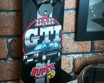 Wall bottle opener Volkswagen Golf 1 GTI