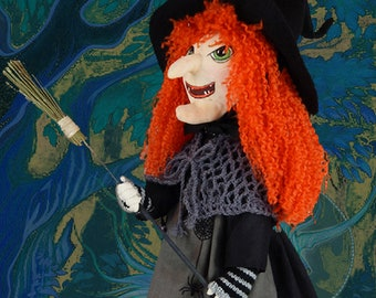 Doll witch doll art doll decoration, toy game
