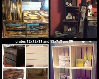 HOMEMADE CRATES