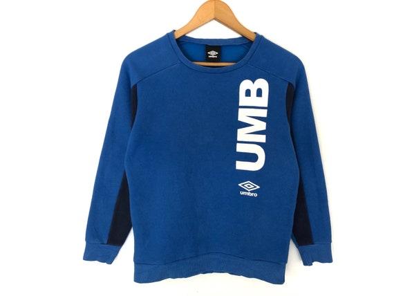 Umbro Small Logo Spellout Pullover Jumper Sweatshi