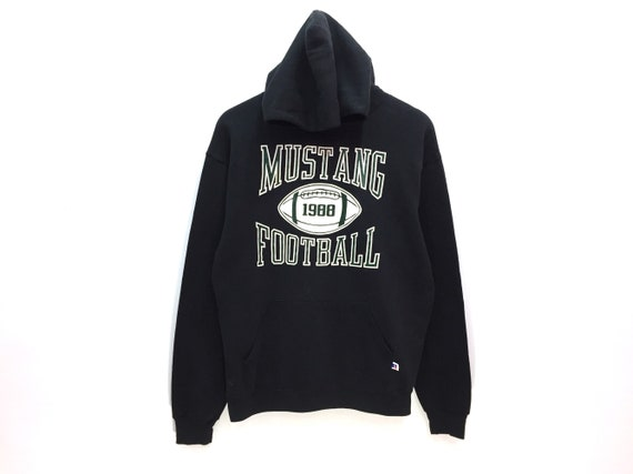 Mustang Football X Russell Athletic Spellout Sweat