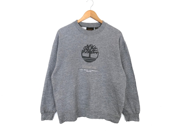 Timberland Big Logo Spellout Embroidery Pullover J