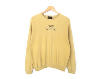 Gianni Valentino Spellout Embroidery Pullover Jumper Sweatshirt Women