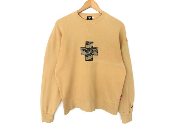 Powell Skateboards Spellout Embroidery Pullover Ju