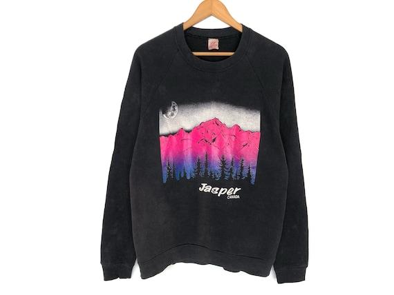 Jasper Canada Spellout Pullover Jumper Sweatshirt