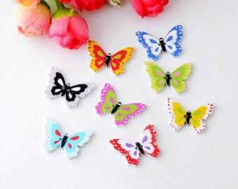 5 buttons butterflies scrapbooking and sewing