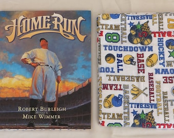 Babe Ruth Picture Book and Pillowcase gift set
