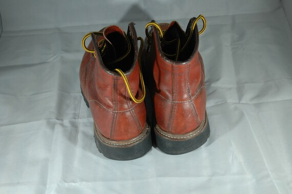 Red Wing Boots, vintage Red Wing moc toe boots, w… - image 5
