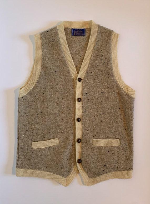 1990s Pendleton Sweater Vest M