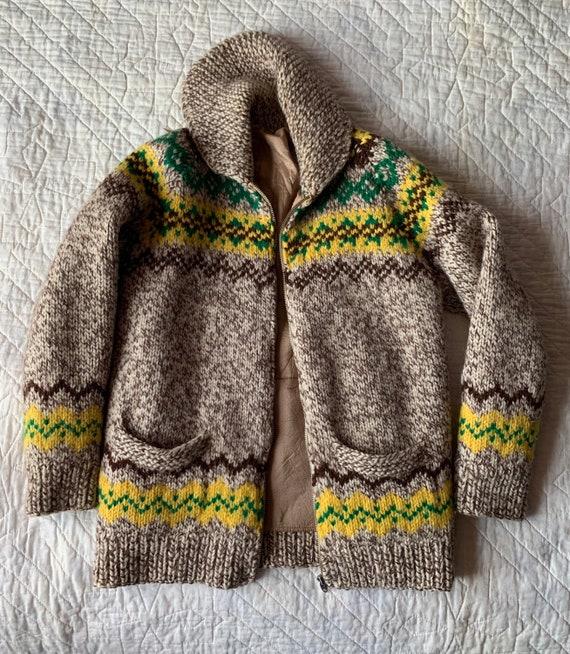 70s Cowichan Sweater