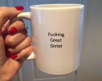 Funny sister gift sister mug sister coffee mug sister gift idea sister Christmas gift best sister mug best sister Ever & Funny sister gift | Etsy