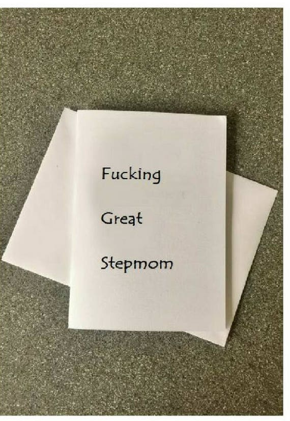 Step Mom CardStep Mother CardStepmom CardBirthday CardFor
