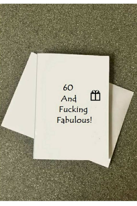 60th Birthday Card60th Card Mom60th Dad60th