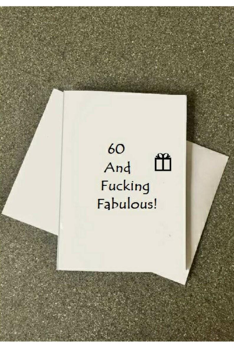 60th Birthday Card60th Card Mom60th Dad60th
