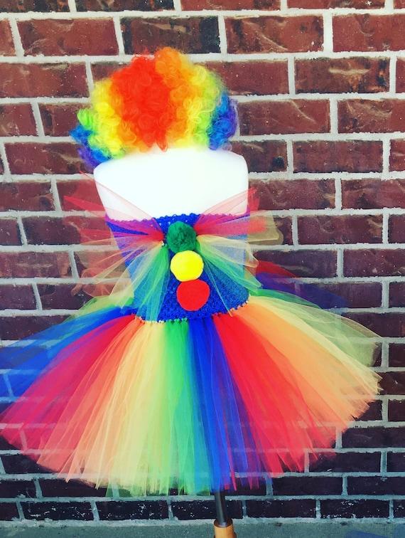 Clown Tutu Kostüm Clownskostüm