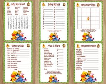 Winnie The Pooh Baby Shower Etsy