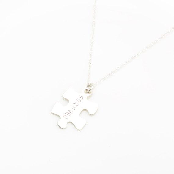 14KGF custom gold stamping letter digit gold-filled necklace Valentines Day