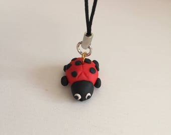 Lucky Ladybug charm