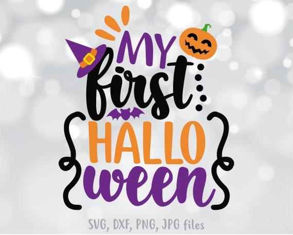 First Halloween Svg My First Halloween Svg 1st Halloween Etsy