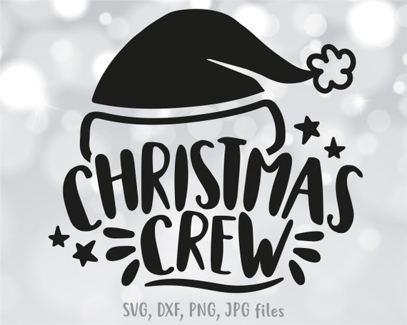 Christmas Crew Svg Matching Christmas Svg Christmas Vacation Etsy