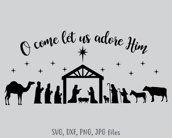 Nativity Svg Nativity Scene Svg Christmas Svg Holiday Etsy Download 4,764 nativity scene clip art and illustrations. nativity svg nativity scene svg christmas svg holiday decoration decal vinyl cut file nativity cricut silhouette files svg dxf png jpg