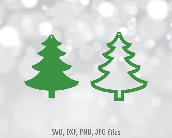 Christmas Tree Earrings Svg Tear Drop Earrings Svg Christmas Earring Cut File Christmas Svg Winter Earring Files For Cricut Silhouette