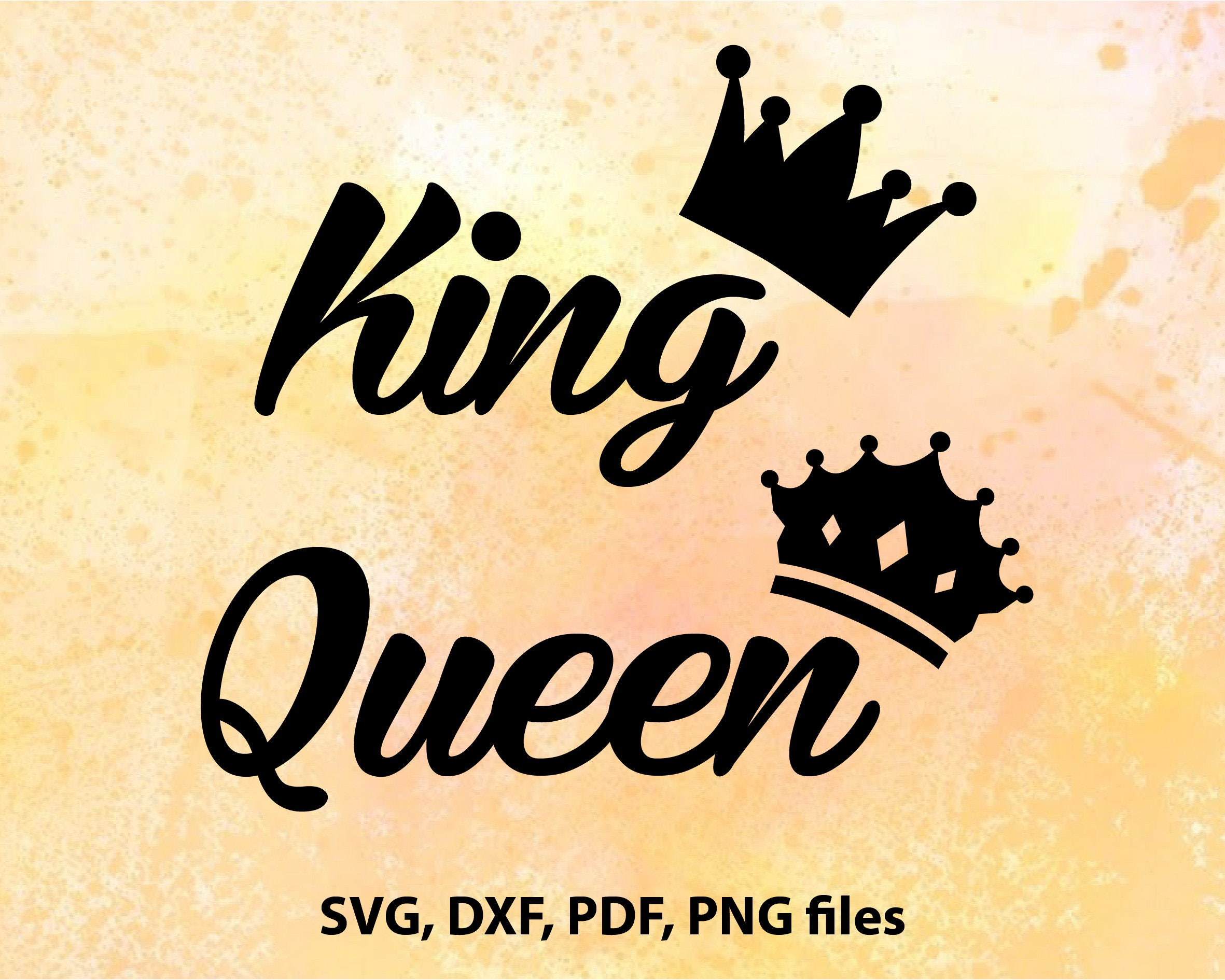 His Queen Her King Svg.Her King Svg Www Topsimages Com