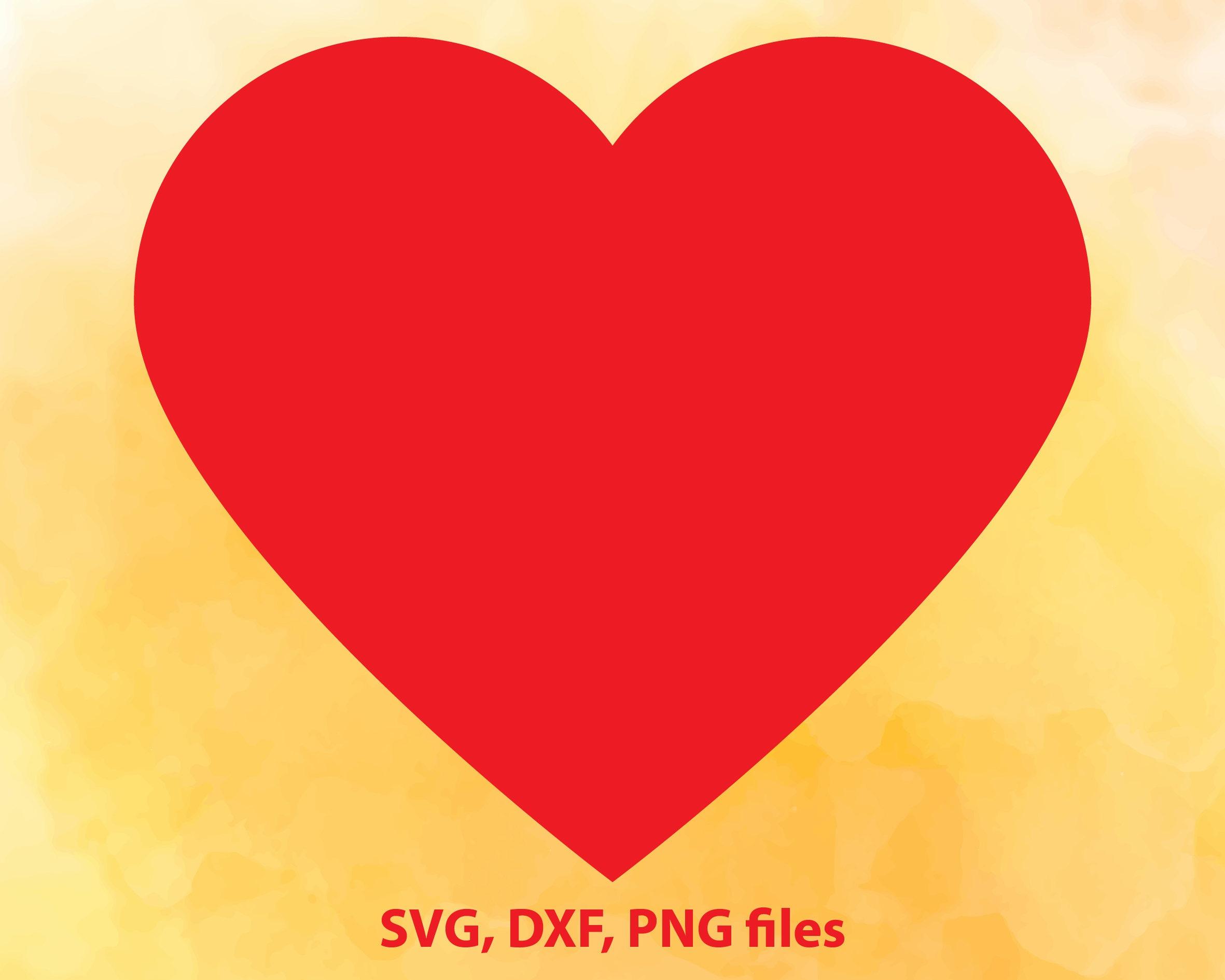 Heart SVG | Etsy
