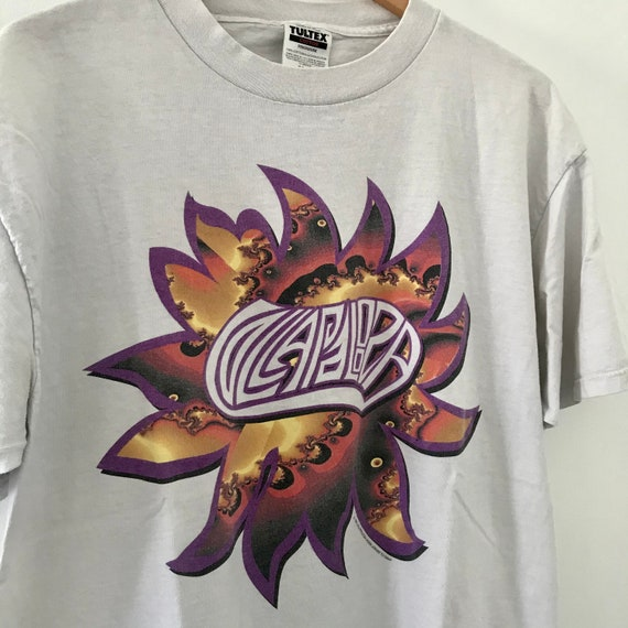 Vintage 1995 Lollapalooza Tour Shirt Sonic Youth H