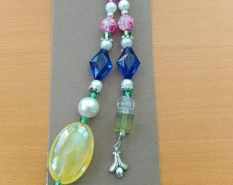 Pearl Jewel accent keychain