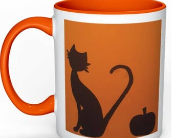 Pumpkin Cat Mug