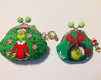 6f24f1df35 Christmas purse | Etsy