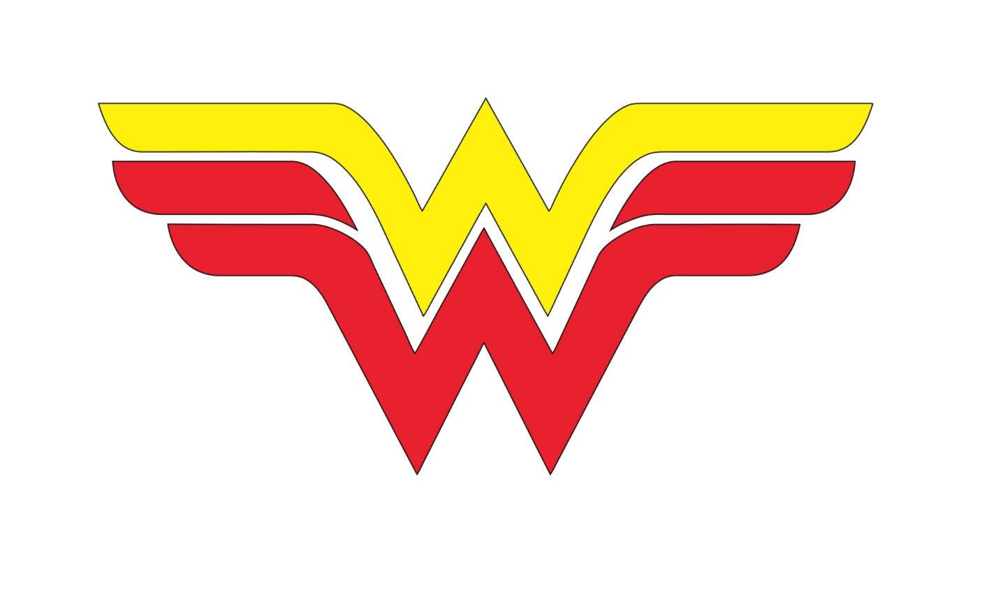 Wonder Woman Iron On Vinyl Decal, Heat Transfer Vinyl