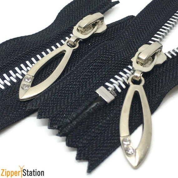 9 inch zip Closed End Autolock navy or black