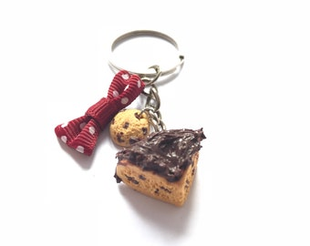 Key ring cake cookies