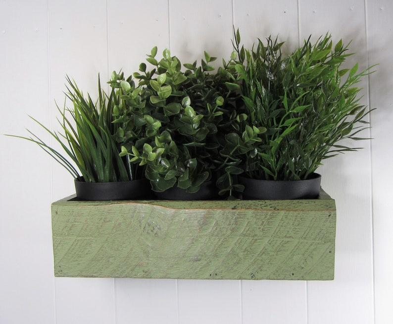 Pallet wood window box painted wall box hand made wall | Etsy