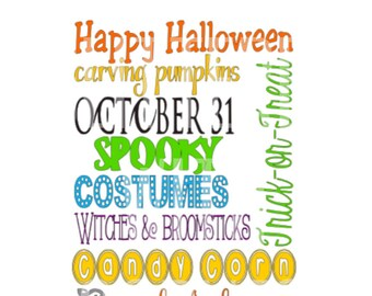 halloween sayings svg