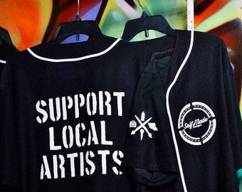 Support Local Artists Baseball Jersey