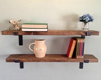 Floating Shelves Brackets Etsy