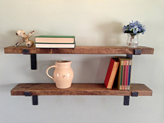 Floating Shelf, Shelf, Shelves, Shelf Brackets, Farmhouse Decor, Rustic  Decor, Kitchen Decor, Wall Decor, Kitchen Shelves, Bathroom Shelves