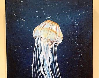 Drifter - Jellyfish - Original Acrylic Painting - Multiple Sizes