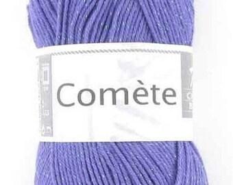 Wool Comet color purple No. 165